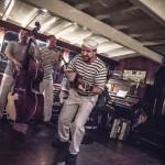 Hudební vystoupení na Salonní rychlolodi Nepomuk