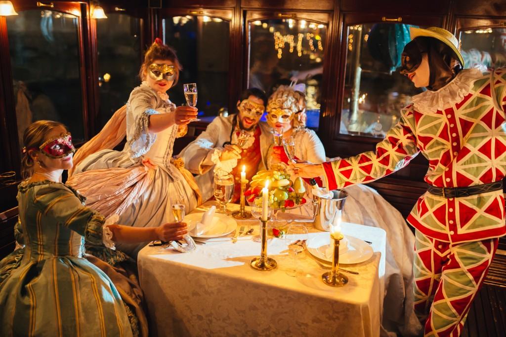 Karnevalový večírek na Vltavě